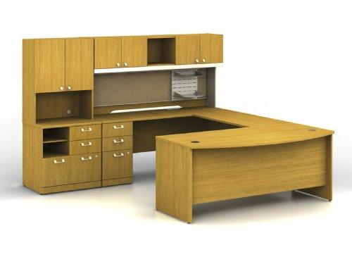 BUSH BUSINESS FURNITURE Quantum Left Hand Office - Furniture Office