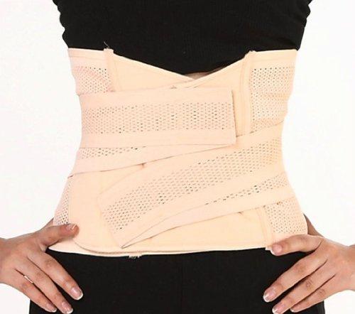 Belly SCLM Récupération post-partum abdomen de taille amincissant Shaper Wrapper Ceinture respirante