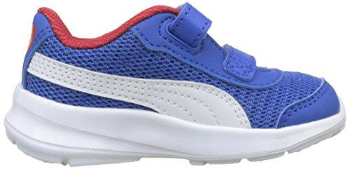 Azul Zapatillas V Niños strong Blue White Puma De 04 Stepfleex Red Run Mesh Unisex puma Inf Deporte ribbon 2 qP71YxwB