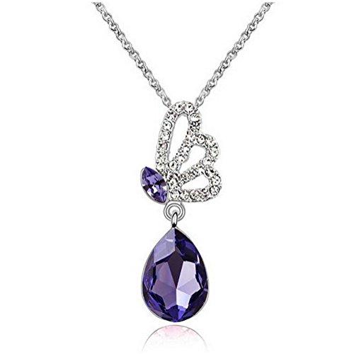 next-fri-new-design-austrian-crystal-butterfly-wings-pendant-series-jewelry-necklacepurple