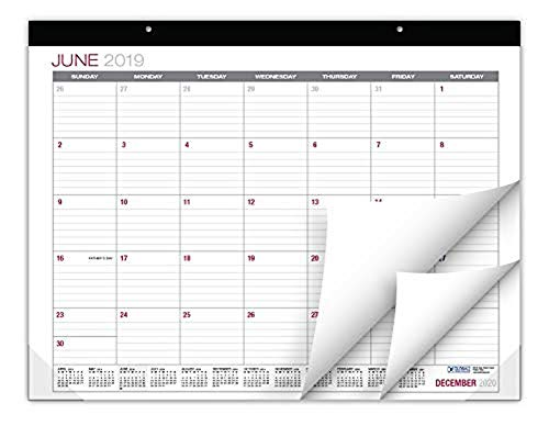 (Professional Desk Calendar 2019-2020: Large Monthly Pages - 22