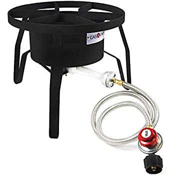 Amazon.com: Estufa de gas quemador de alta presión propano ...