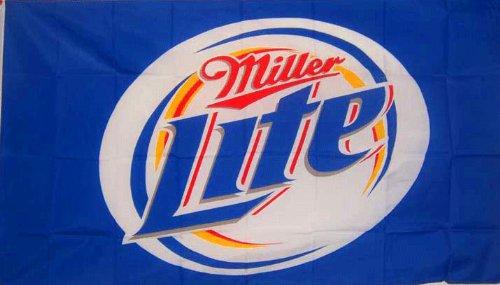 Miller Light Traditional Flag