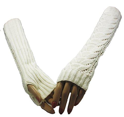 Fashion Dimensions Kreme Wonderland Arm Warmer Gloves