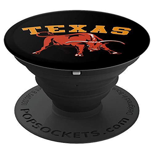 Texas Longhorn - PopSockets Grip and Stand for Phones and Tablets ()