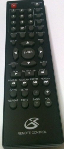 GPX HMD8017DT Home Music System Remote Control (Gpx Tv Remote compare prices)