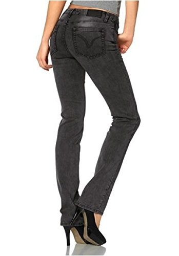 de Jeans Arizona stretch Jeans Us Noir Femmes zawqar