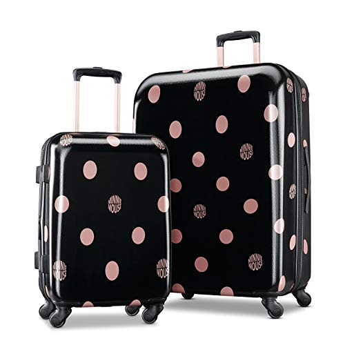 American Tourister Kids' 2 Pc (21/28), Minnie Lux Dots American Tourister Luggage Set