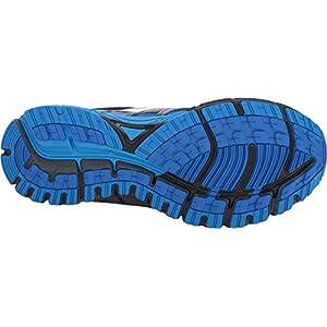 Brooks Men's Adrenaline ASR 14 Black/Ebony/Lapis Blue 11 D US