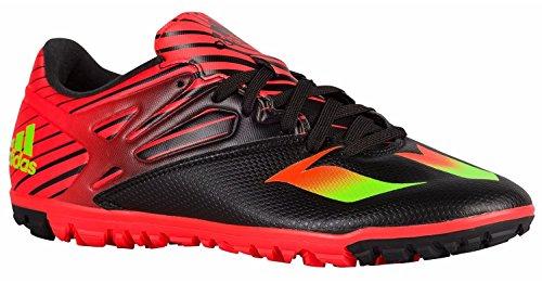 ボクシング賢明な組立Adidas Messi 15.3 Men's Soccer Turf Shoes(Core Black/Neon Green/Infrared)/サッカー ターフ?シューズ Messi 15.3 (9.5 -27.5cm)