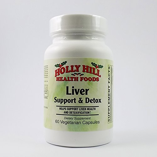 Holly Hill Health Foods, Liver Support & Detox, 60 Vegetarian Capsules