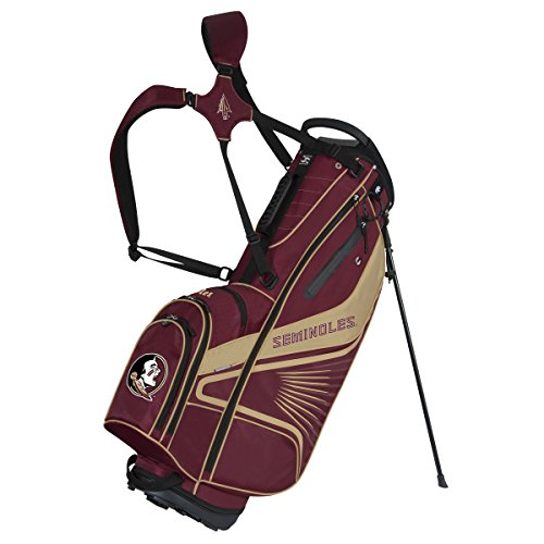 Florida State Golf Bag - Team Effort Florida State Seminoles Gridiron III Stand Bag