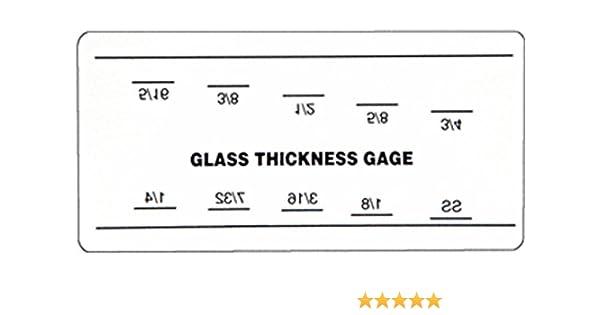 b0031d8550b CRL Glass Thickness Gauge  Amazon.com  Industrial   Scientific