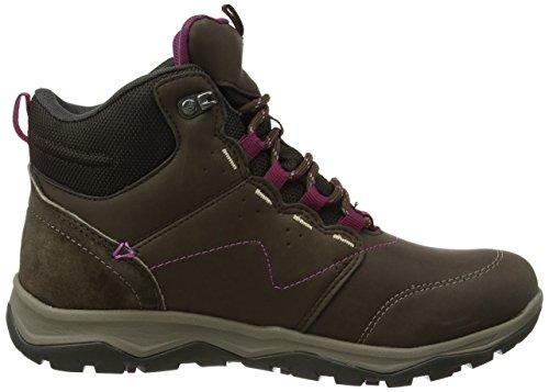 Karrimor Damen Harris Mid Ladies Weathertite Trekking-& Wanderstiefel Braun (Brown)