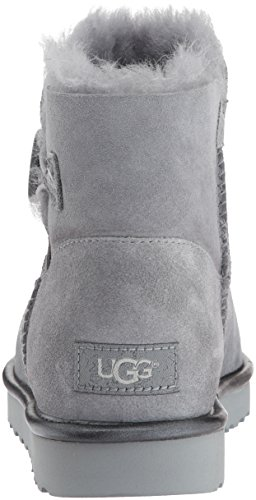 Geyser Bottines Daim 39 Femme Mini Gris Button En Ugg Bailey f8pXt