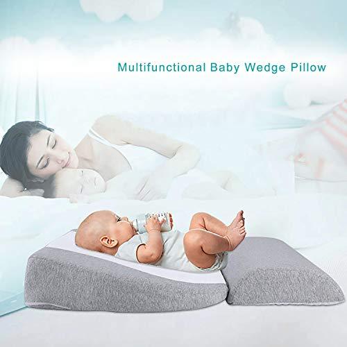 Newzealkids Baby Wedge Pillow, Infant Sleep Wedge