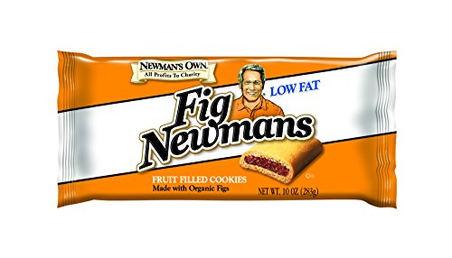 Newman's Own Fig Newmans, Low Fat, 10-Ounce Packages (Pack of 6)