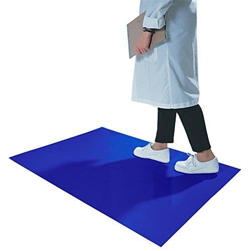 Cleanroom Sticky Mats (CleanPro Blue Adhesive Sticky/Tacky Mats, 36