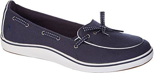 Grasshoppers Women's Windham Slip-On, Navy, 8 W US