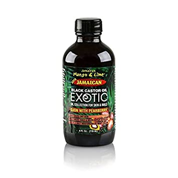 JAMAICAN MANGO&LIME PURE BLACK CASTOR OIL EXOTIC COLLECTION OJON 4OZ