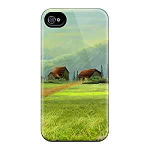 High-quality Durable Protection Case For Iphone 4/4s(dream Village)