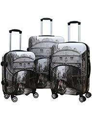 Zota Luggage 3 Piece Traveler Hardside Upright With TAS Locks