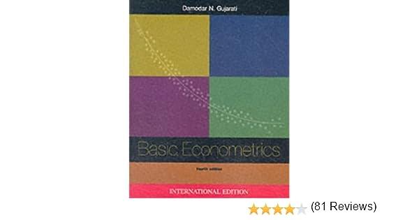 Basic econometrics 4th fourth edition damodar n gujarati basic econometrics 4th fourth edition damodar n gujarati 8580000012972 amazon books fandeluxe Gallery