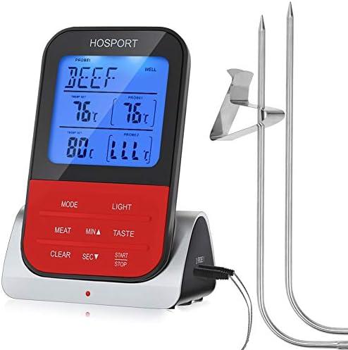 HOSPORT Wireless Thermometer Waterproof Digital