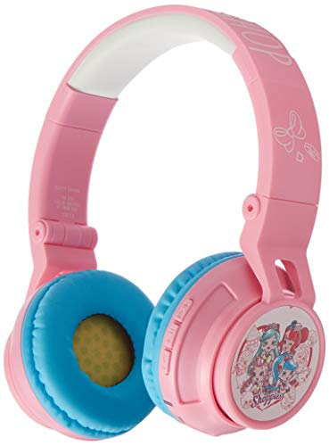 Shoppies Shopkins Headphones! Wireless, Shopkins Bluetooth Headphones with Microphone for Kids - Noise Limiting, Foldable Headphones