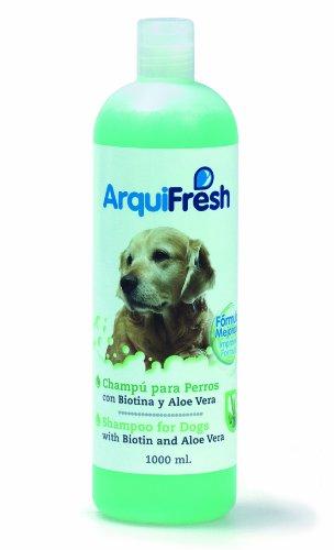 Arquizoo - Champú Perros con Biotina y Aloe-Vera, 1 L