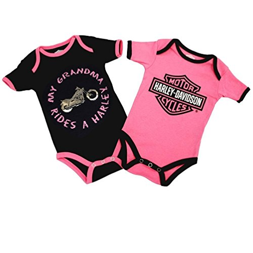 Harley Davidson Creeper Infant Grandma 3009503