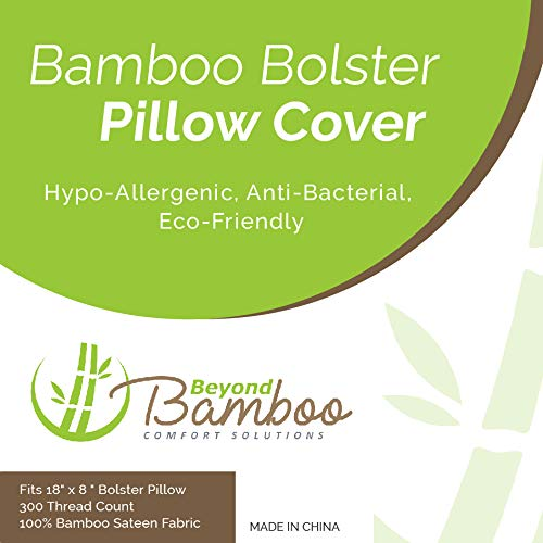 Bamboo Beyond Bolster Pillow Case | Fits 18