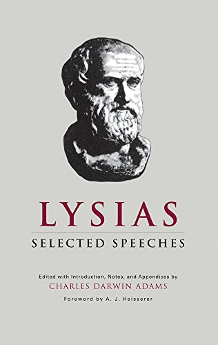 Lysias: Selected Speeches (Oklahoma Series in Classical Culture Series)