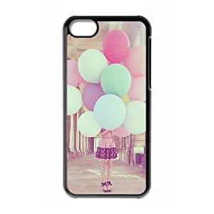 Balloons ZLB810241 DIY Case for Iphone 5C, Iphone 5C Case