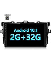 Android 10.1 for 2006 2007 2008 2009 2010 2011 2012 Toyota Corolla 9'' HD 2.5D Tempered Glass Mirror Car GPS Radio Player Universal Radio GPS Navigation Audio WiFi Player 2+32G