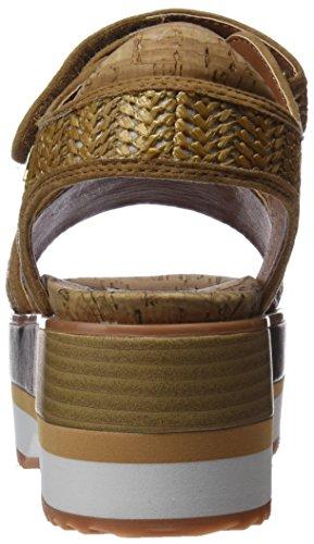 Gioseppo 43307, Sandalias con Plataforma Para Mujer Marrón (Cuero)