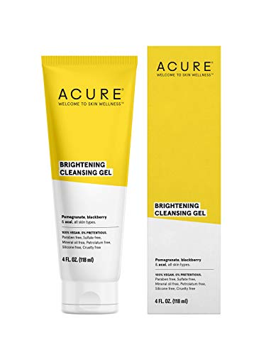 ACURE Brightening Cleansing Gel, 4 Fl. Oz. (Packaging May Vary)