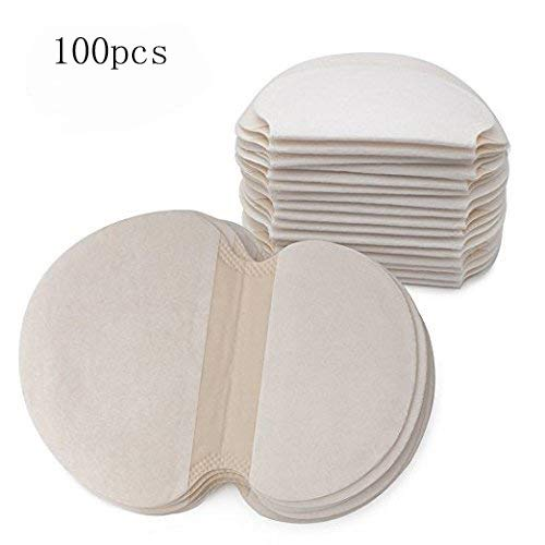 Underarm Sweat Pads,100pcs / 50Pair Absorb Sweat Armpits Disposable Perspiration Pads Deodorant Khan Antiperspirant For Men Women Kids