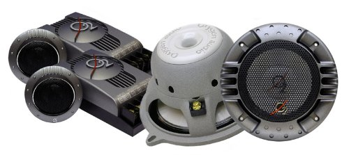Oxygen Audio Alium5 5.25 inch 2 Way Component, 120W WRMS (O2 Alium-5)