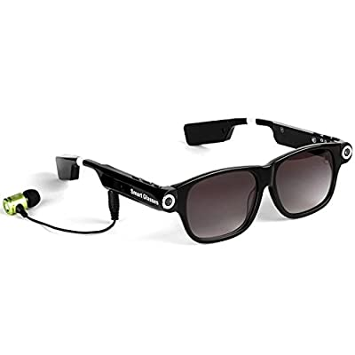 Smart Glasses/Sunglasses Wireless Call Music Player Earphone Bluetooth For iPhone/Android LED With Camera Riding Bike/Moto Recorder