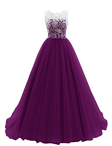Sleeveless Prom Gown - 6