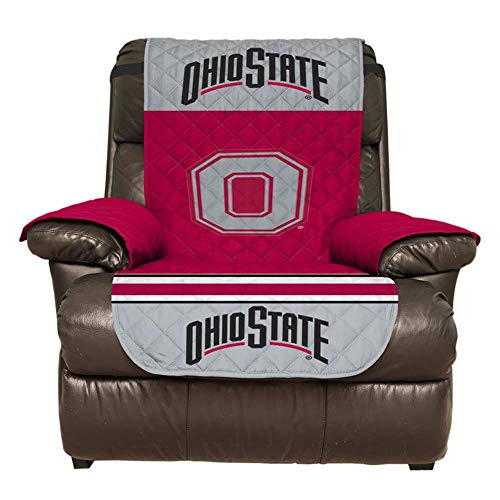 Ohio State Buckeyes Recliner - Pegasus Ohio State University Buckeyes Recliner Cover Furniture Protector