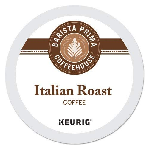 Barista Prima Coffeehouse Italian Roast K-Cups 96ct for Keurig Brewers - Packaging May Vary by Barista Prima