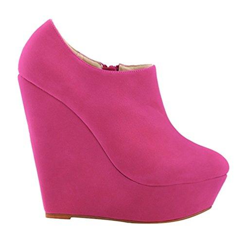 Zapatos Tac Botas Plataforma WanYang De Invierno Mujer Oto Bombas Las o Botines pwq4Zx0