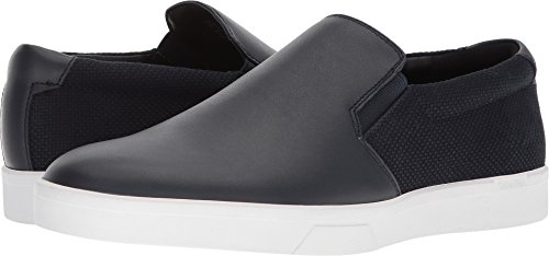 Calvin Klein Mens Flat - Calvin Klein Men's Ivo Loafer, Dark Navy, 8 Medium US