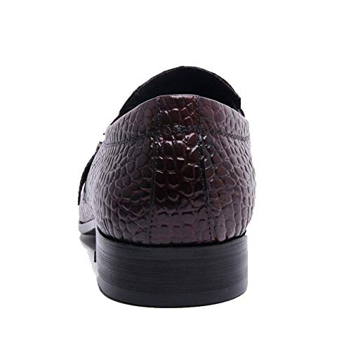 Comfortable Men's in British Shoes Business Casual Pelle Traspirante Black Spring Style Trendy pRwqv5WW