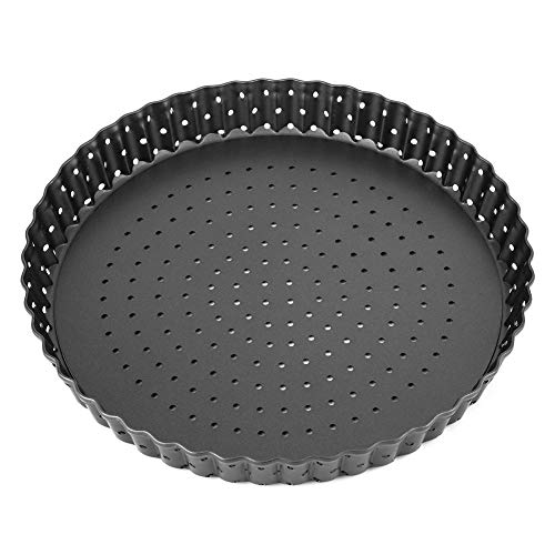 Carbon Steel Pizza Pan with Holes for Oven, 5.5/8/9 Inch Pizza Tray Deep Dish Pizza Pan Non-stick Bakeware with…