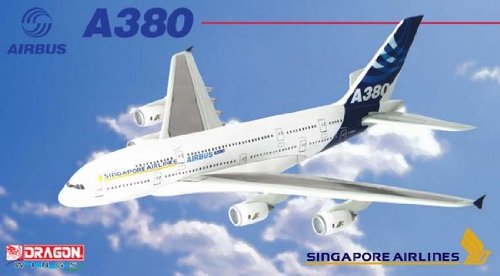 Singapore Airlines A380 Asia Tour 2005 (1:400)