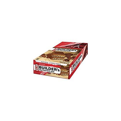 CLIFBAR Food Builders Bar Chocolate (Box of ()