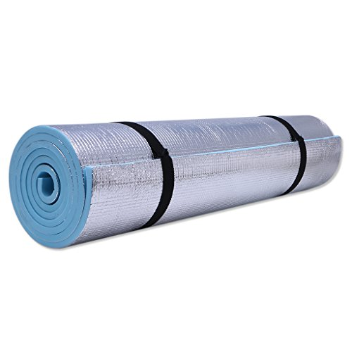 Yuxiale 6mm Thick Durable EVA Yoga Mat Exercise Gym Fitness Workout Non-Slip Pad Camping